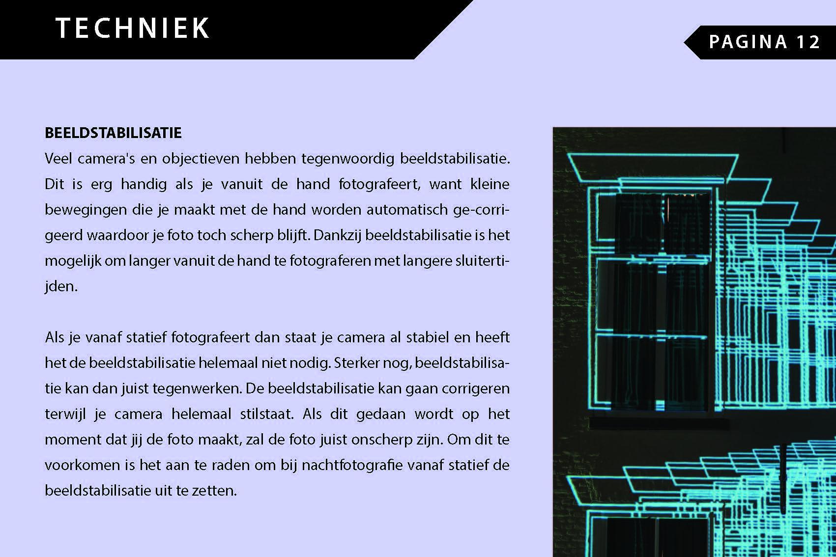 ebook Nachtfotografie Pagina 1 - geschreven door Mark de Rooij