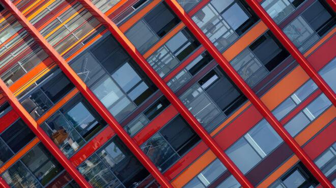 Architectuur Calypso Rotterdam