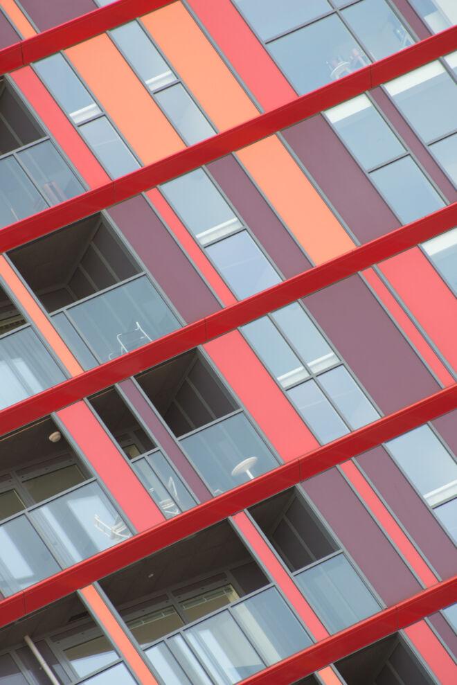 Architectuurfoto Calypso Rotterdam