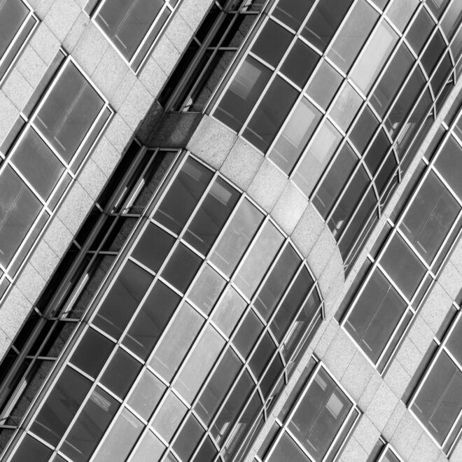 Architectuurfoto Rotterdam Marriot Hotel