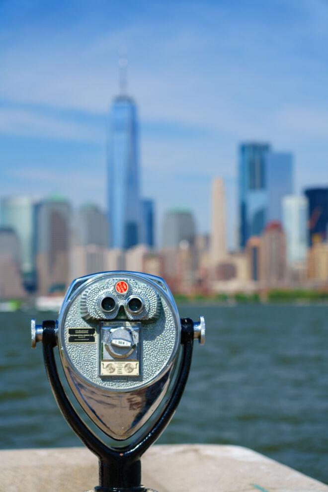 Binoculars in New York City