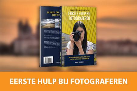 Cadeau voor fotografen - Fotografieboek Eerste Hulp Bij Fotograferen
