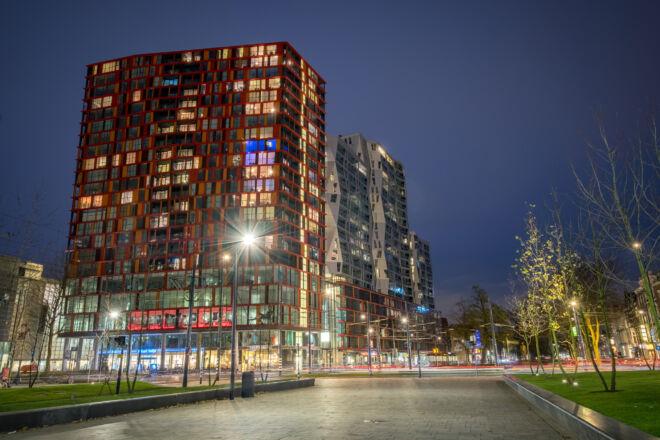 Avondfoto Calypso in Rotterdam
