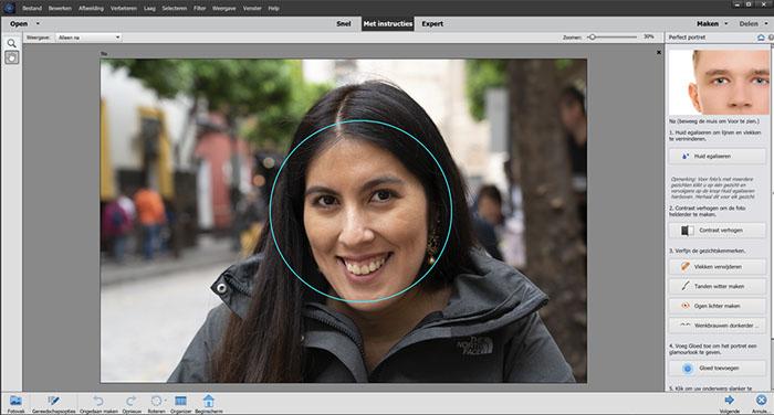 Photoshop Elements - Portretfoto's bewerken