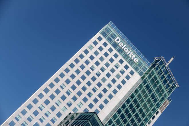 Deloitte office in Rotterdam