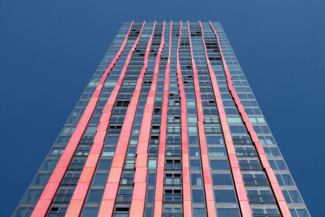 Foto van de Red Apple in Rotterdam