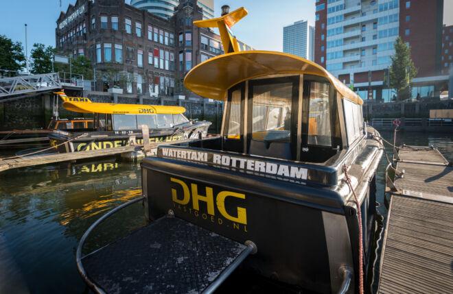Watertaxi Rotterdam DHG Vastgoed