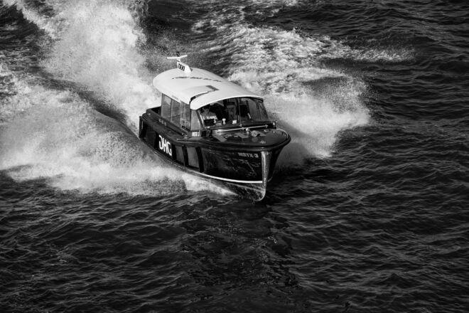 Mooiste foto's watertaxi Rotterdam