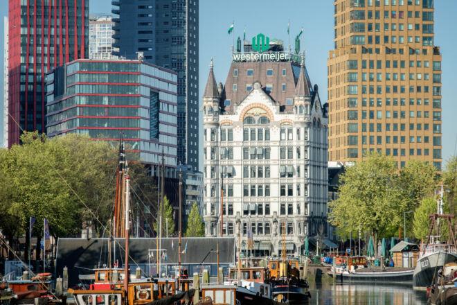 Foto Witte Huis in Rotterdam