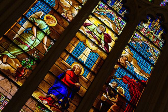 Glas-in-lood raam - Saint Patricks Cathedral New York