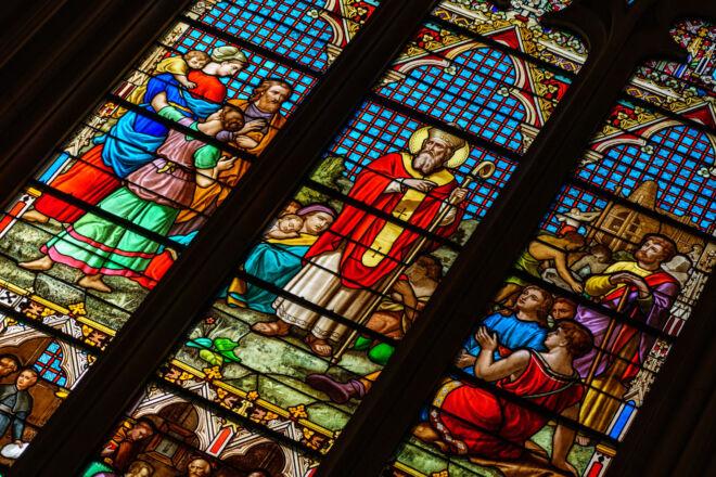 Glas-in-lood raam - Saint-Patricks kathedraal New York