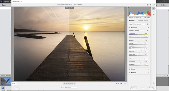 Goede cursus Adobe Photoshop Elements - Camera RAW