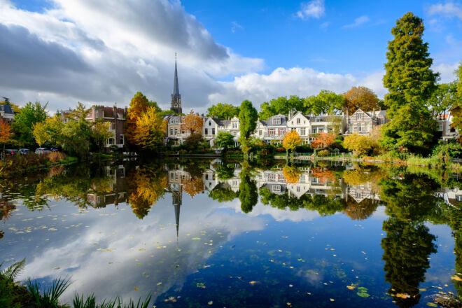 Mooiste herfstfoto's Rotterdam - Kralingen