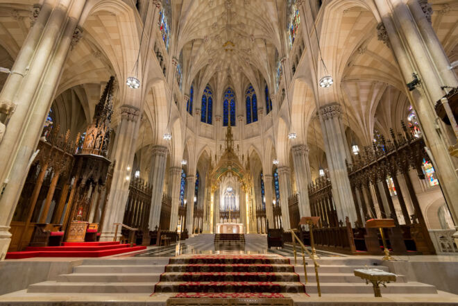 Interieurfoto St. Patricks Cathedral New York