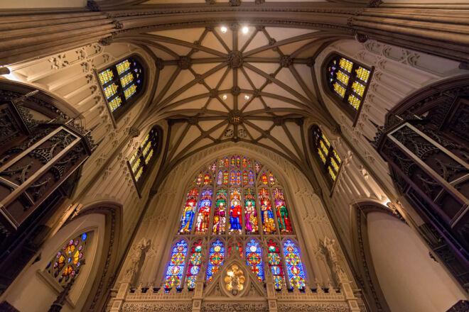 Interieurfoto Trinity Church New York