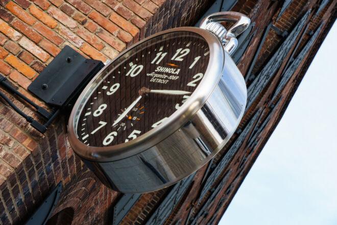 Clock Dumbo House New York