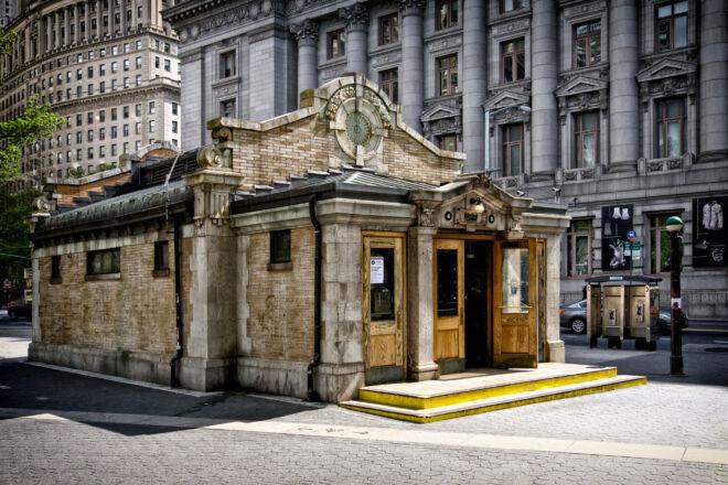 Metrostation Battery Park New York