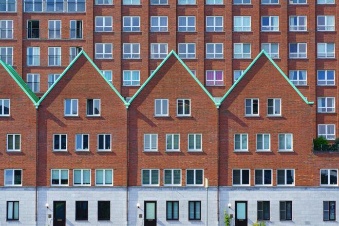 Architectuurfoto Rotterdam - Spoorweghaven