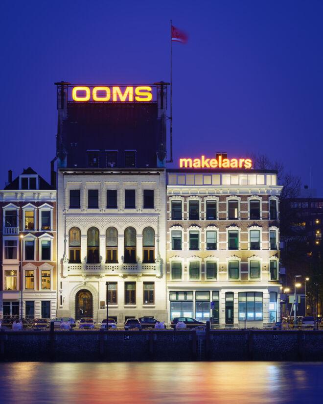Ooms Makelaars kantoor in Rotterdam