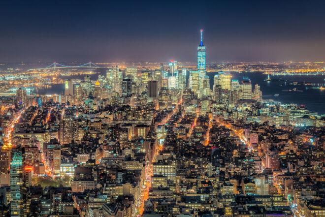 Mooiste foto skyline Manhattan New York