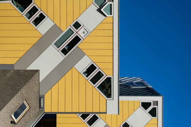 Kubushuizen in Rotterdam