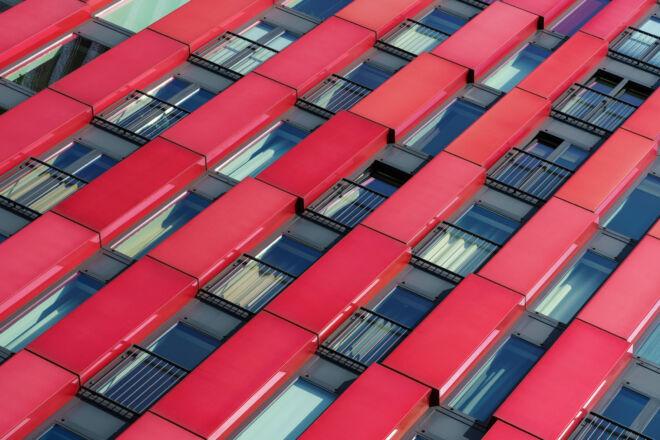 Mooiste architectuurfoto Rotterdam - de Red Apple