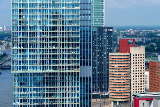 Architectuurfoto Kop van Zuid Rotterdam
