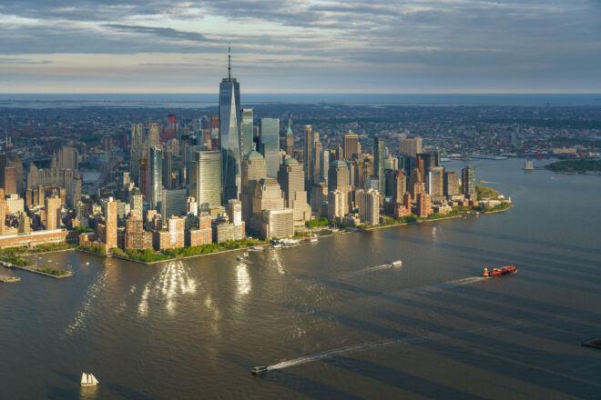 Mooiste luchtfoto Manhattan New York
