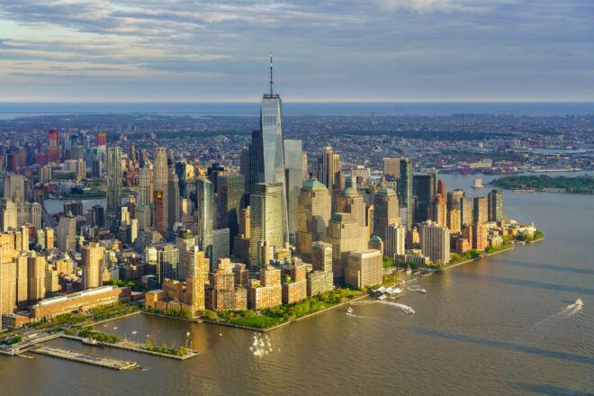Mooiste luchtfoto New York City