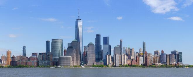 Mooiste skyline foto Manhattan New York