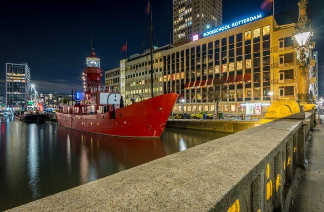 Vessel 11 in het Maritiem District in Rotterdam
