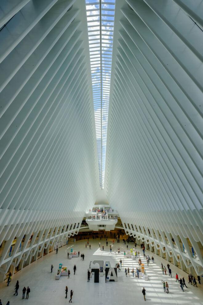 Oculus van binnen New York