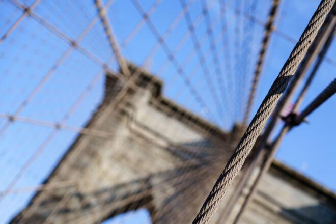 Originele foto Brooklyn Bridge