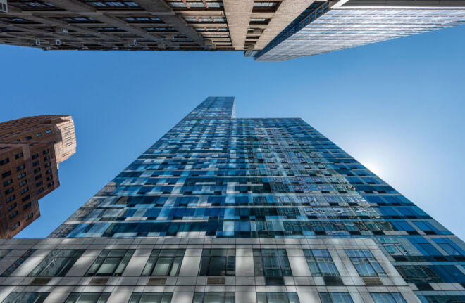 Skycrapers New York Brooklyn