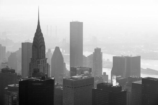 Skyline New York met Chrysler Building