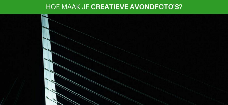 Hoe maak je creatieve avondfoto's