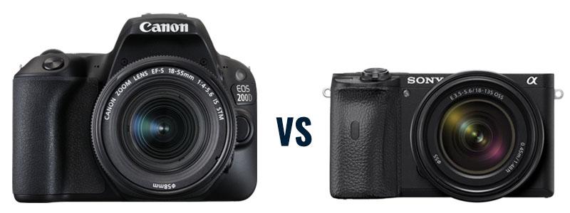Verschil spiegelreflexcamera en systeemcamera