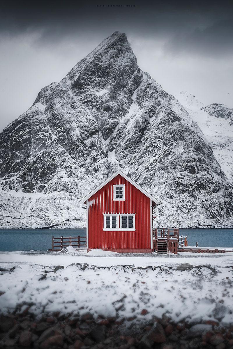 Mooiste landschapsfoto's van de Lofoten in Noorwegen