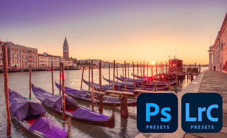 Pastel presets voor photoshop en lightroom