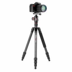 Kingjoy K1208 + QH10 Carbon statief met camera