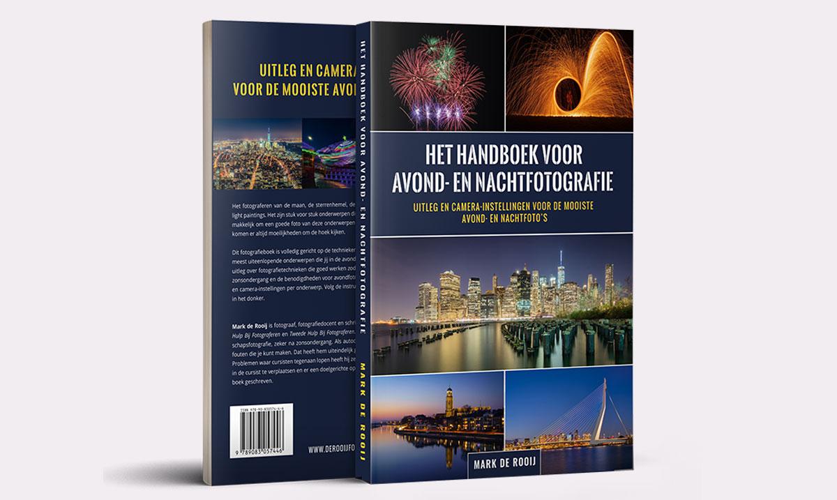 Avondfotografie en Nachtfotografie boek van Mark de Rooij