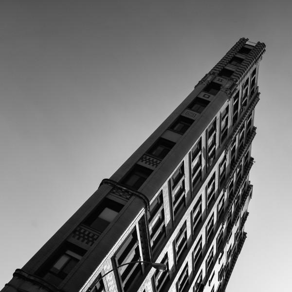 029. Corner of Cornelia Street and West 4th Street, New York (black & white)