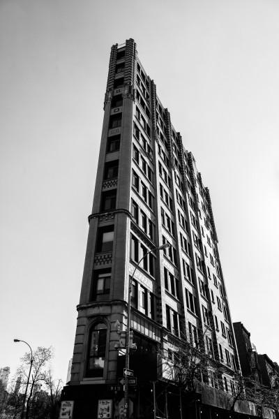 028. Architecture of New York, Cornelia Street, New York (black & White)
