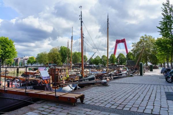 188. Oude Haven met Willemsbrug